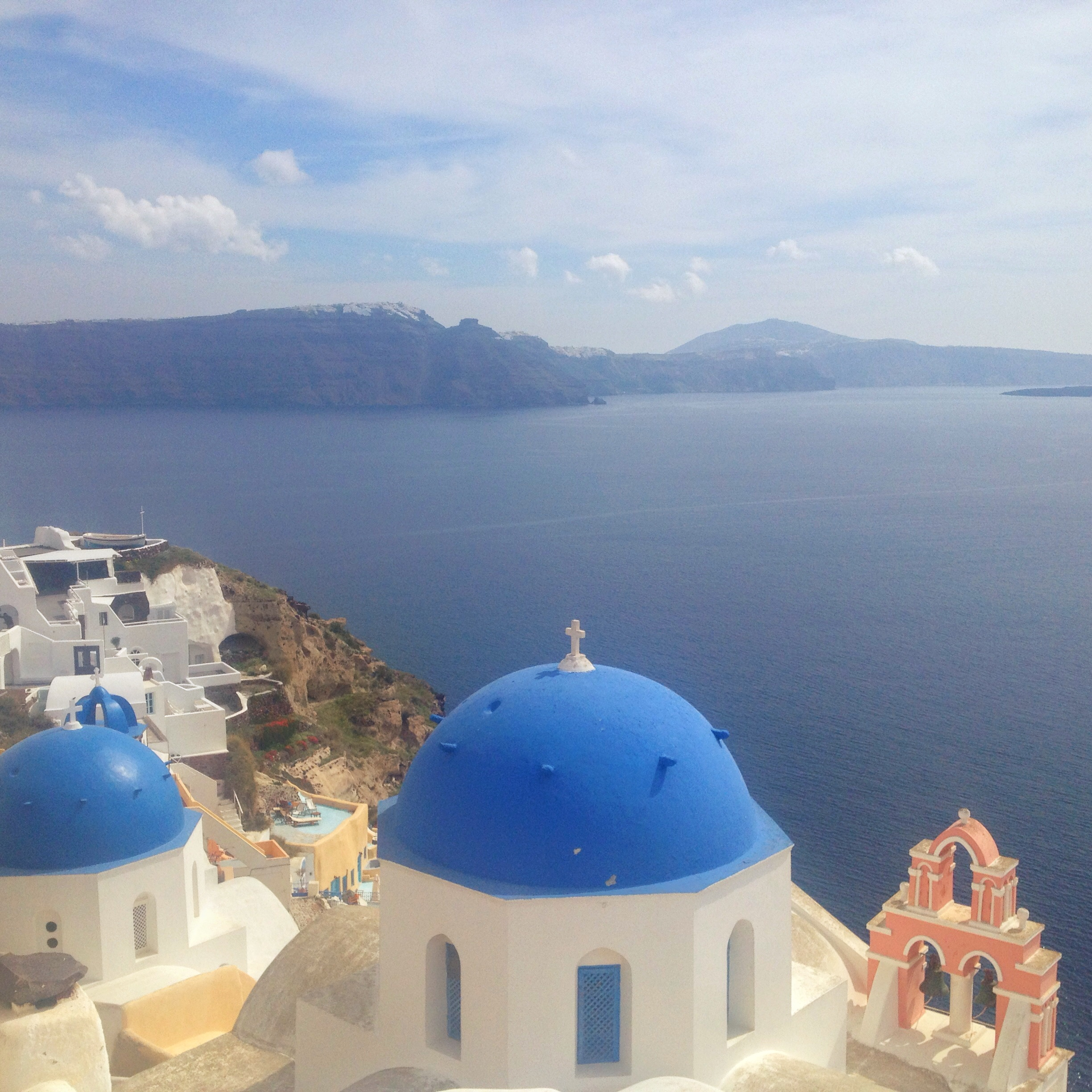 Santorini And A Cancelled Workaway