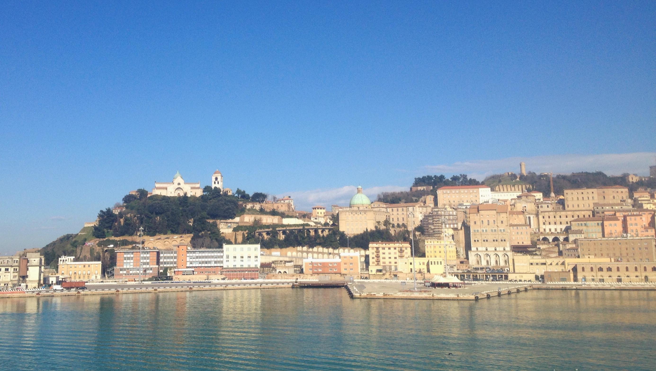 Corinth to Ancona Ferry